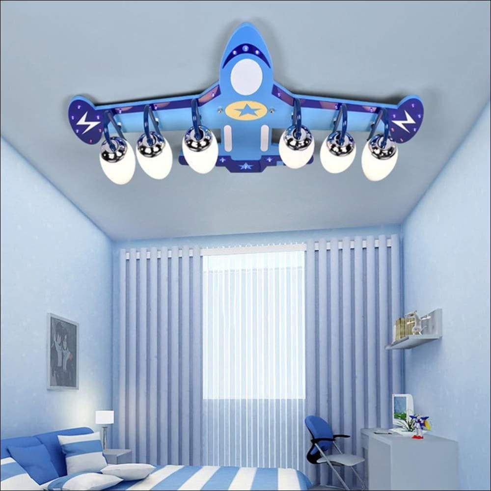Children's Airplane Modern Ceiling Lamp - Ceiling Lamps