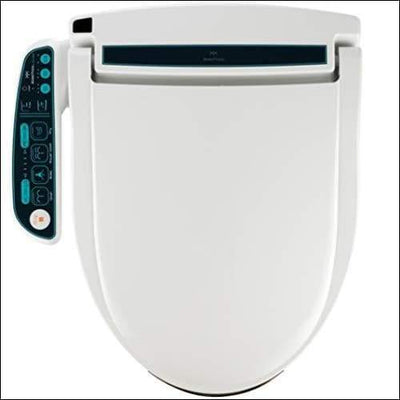 BidetMate 2000 Series Electric Bidet Heated Smart Toilet Seat with Unlimited Water Side Panel Remote Deodorizer and Dryer - Adjustable