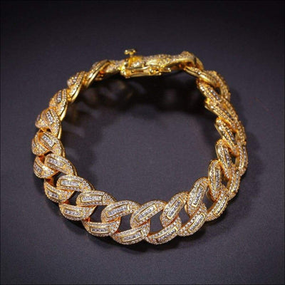 Copper Cuban Link Bracelet