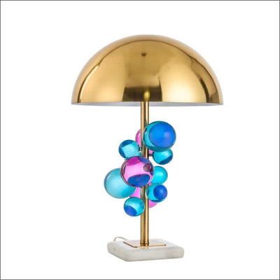 Crystal Bubbles Orb Modern Table Lamp