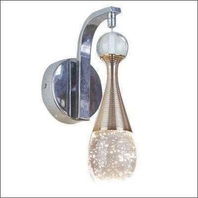 Crystal Champagne Bubble Wall Lamp