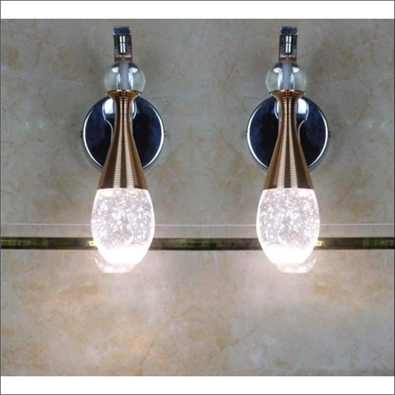 Crystal Champagne Bubble Wall Lamp - Lamps & Lighting