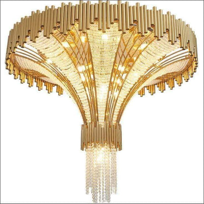 Crystal Duplex Villa Post-modern Ceiling Lamp