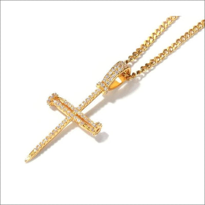 Cuban Holy Cross Men's Chain