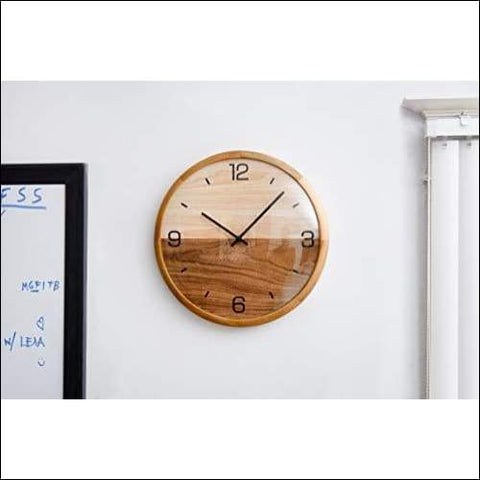 pine wood wall clocks online for under $100