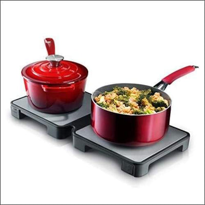 Double Modular Foldable Warming Trays