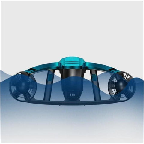 Double Speed Electric Underwater Scooter - Travel Electronics