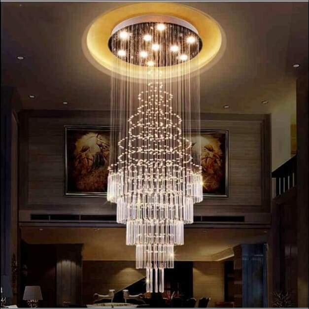 Double Spiral Hanging Chandelier Ceiling Lamp - Ceiling Lamps