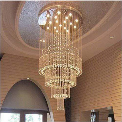 Double Spiral Hanging Chandelier Ceiling Lamp