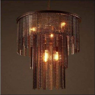 Drop-light Industrial Chain Edison Ceiling Lamp