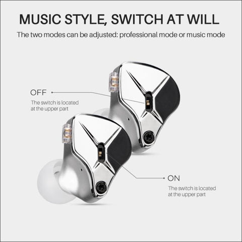 Dual Voice Coil Detachable Earbuds - Travel Electronics