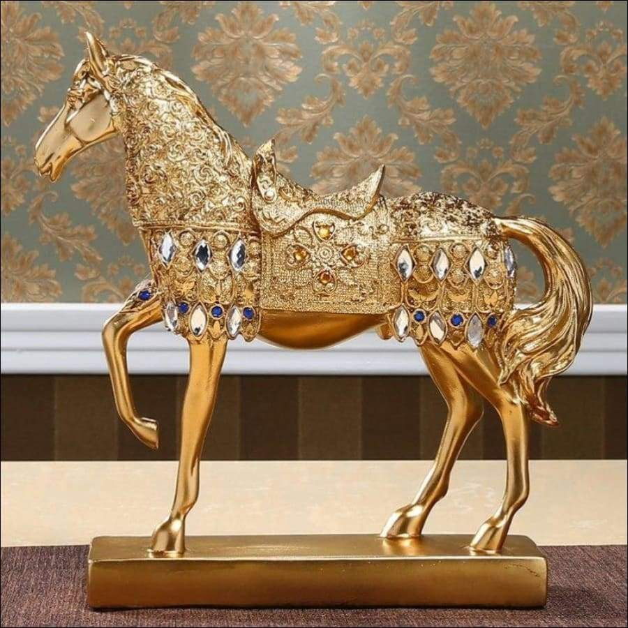 Efficacious European Golden Horse