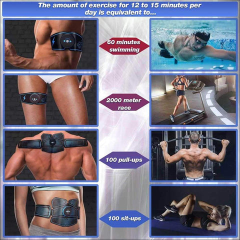 Electric Abdominal Muscle Stimulator - Travel Electronics