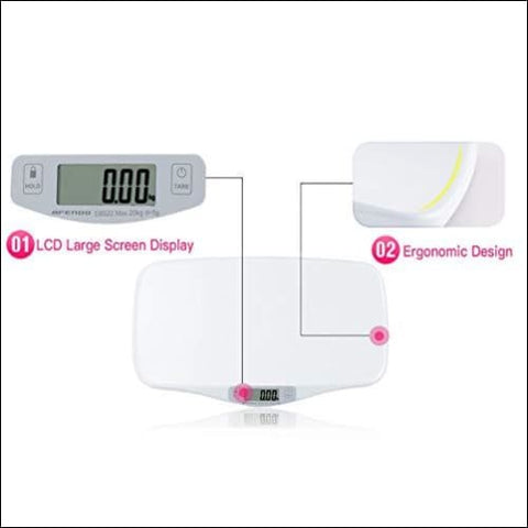 electronic digital scale for toddlers