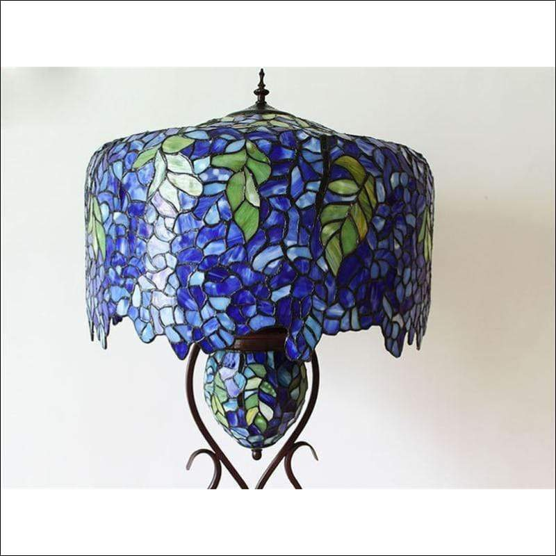 European Wisteria Floor Lamp