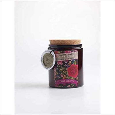Floral Incense Handmade Soy Scented Candle