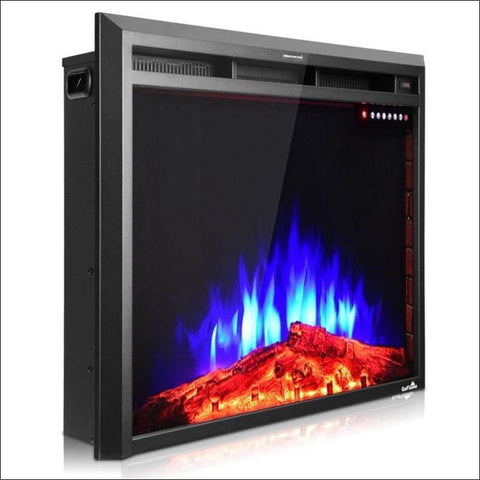 Freestanding 36'' Electric Fireplace Insert - Home Electronics