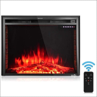 Freestanding 36'' Electric Fireplace Inset