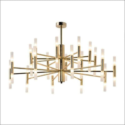 Gold Polished Steel Handing Pendant Ceiling Lamp