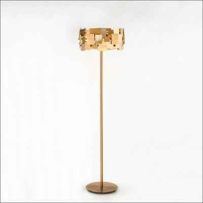 Golden De Piso Floor Lamp