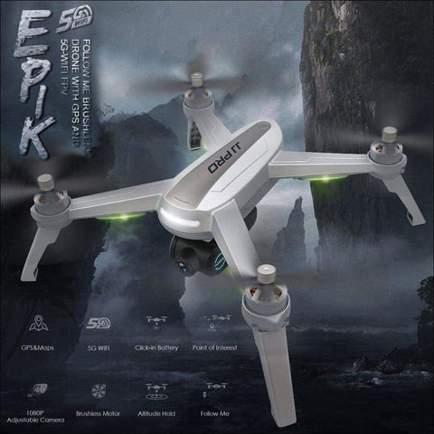 GPS Positioning Altitude RC Quadcopter Drone - Travel Electronics