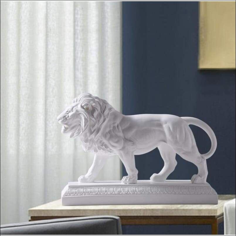 Great Mighty Lion Sculpture - Arts & Crafts