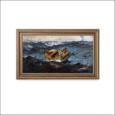 The Gulf Stream Framed Canvas Wall Art - Painting