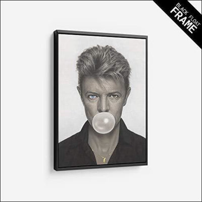''Gum'' David Bowie Framed Canvas Painting
