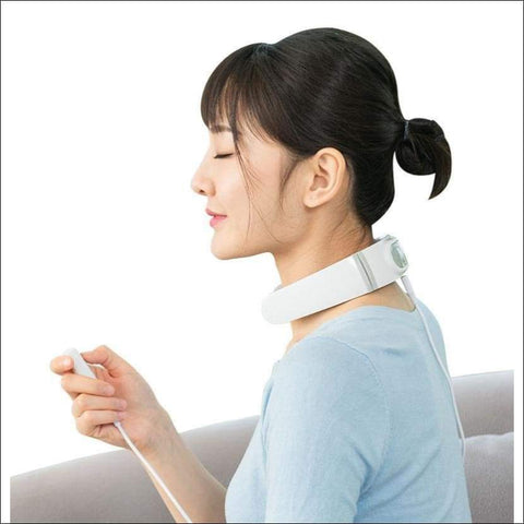 Heated Therapy Neck Massage Pad - Travel Electronics