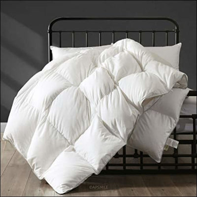 Hungarian Goose Down Bedding Comforter - Queen / Year-round