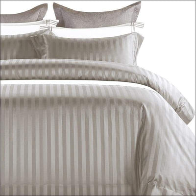 Imported Egyptian Cotton Sateen Jacquard 4PC Bedding Set