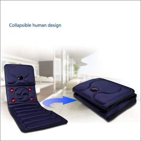 Infrared Portable Heated Back Massage Pad - novariancreations.com