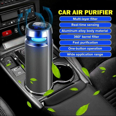 Ionic Infrared Sensor Car Air Purifier - Travel Electronics