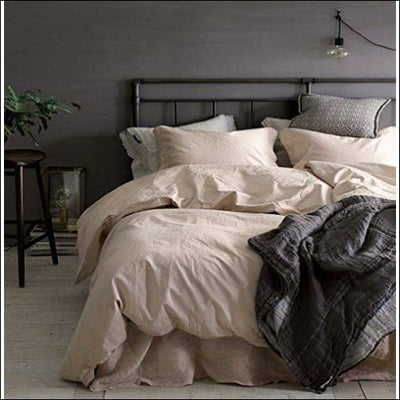 Lambskin Chambray 3PC Bedding Set