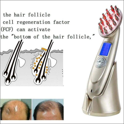 Laser Hair Loss Prevention Electric Comb - Home Electronics