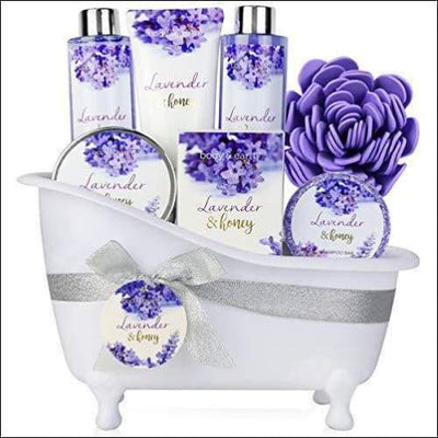 Lavender & Honey 8PC Soap & Lotion Set