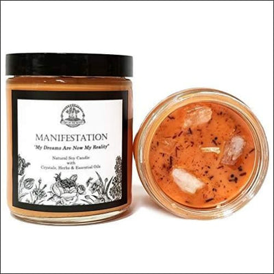 Law of Attraction Essential Oil Scented Soy Candle