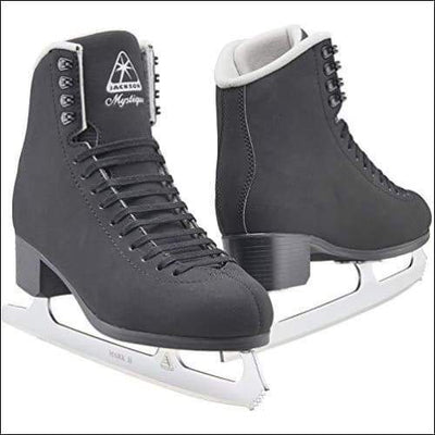 Jackson Ultima Mystique JS1593 / Figure Ice Skates for Men and Boys/Width: Medium/Size: Youth 1 - Outdoors