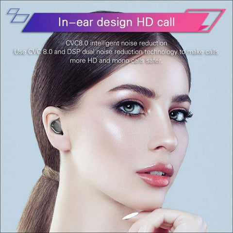 LED Power Bank Wireless Earbuds - Travel Electronics