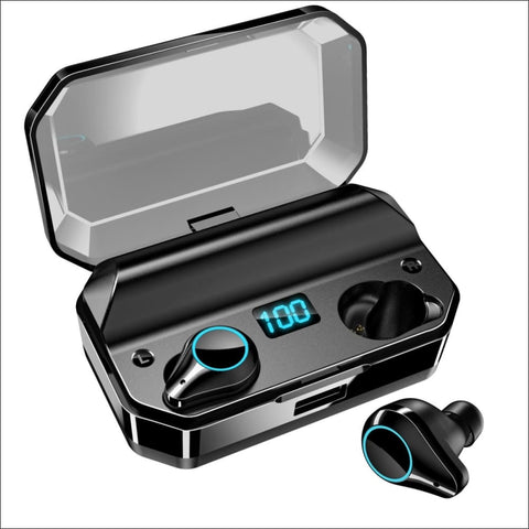 LED Touch Bluetooth Earbuds - Travel Electronics