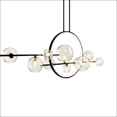 Levitating Orbs Chandelier Ceiling Lamp