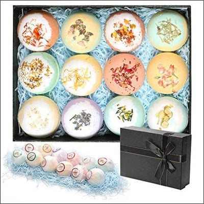 Lotus Core Lavender 12PC Bath Bomb Kit