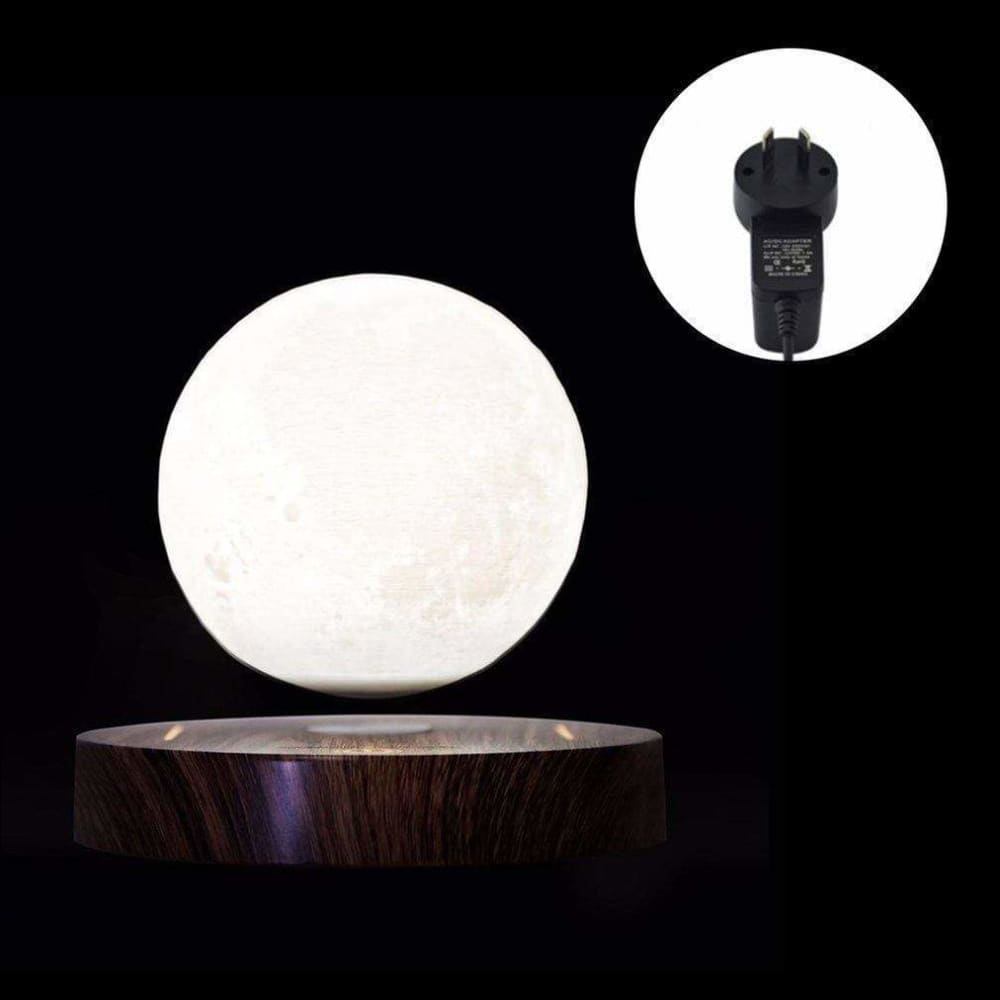 Lunar Levitating 3D Moon Lamp - Lamps & Lighting