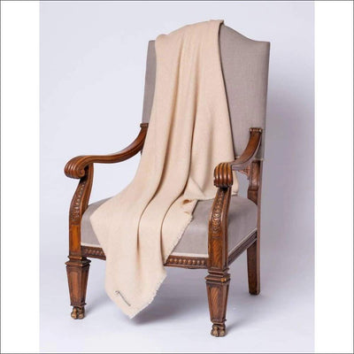 Luxury Alpaca Wool Throw Blanket