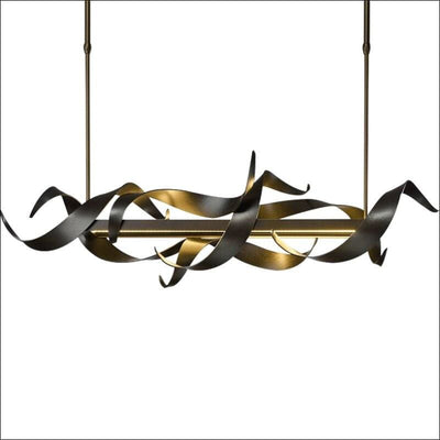 Luxury Black Iron Plated Pendant Ceiling Lamp