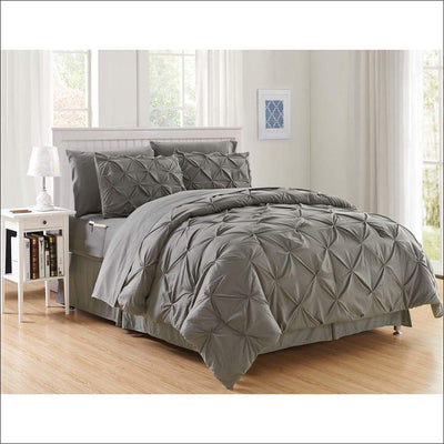 Luxury Micro-fiber Comforter 8PC Bedding Set