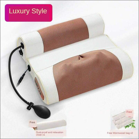 Luxury Physiotherapy Neck Massage Pillow - Home Electronics