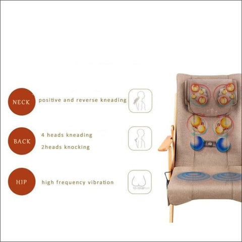 Luxury Portable Folding Massage Chair - Home Electronics