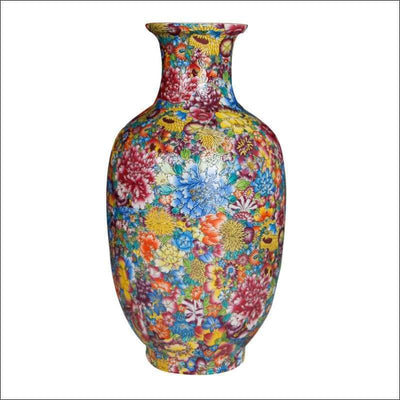 Luxury Rainbow Blossom Tabletop Flower Vase