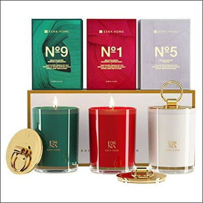 Luxury Trio 3PC Scented Soy Candle Set